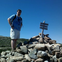 Photo taken at Dorr Mountain by Evan S. on 8/29/2012