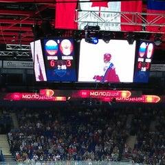 Photo taken at Арена 2000 Локомотив / Arena 2000 Lokomotiv by Владислав К. on 8/10/2012