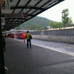 Photo taken at Metrobús  Indios Verdes by Claudio H. on 7/20/2012