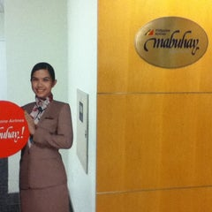 Photo taken at Philippine Airlines Mabuhay Lounge by Jonah Paolo P. on 5/13/2012