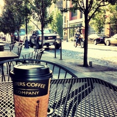 Photo taken at Sisters Coffee Company by Mike M. on 8/16/2012