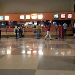 Photo taken at Cinemex Los Pinos by Mario C. on 2/22/2012