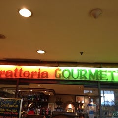 Photo taken at Trattoria Gourmet's by Stanley N. on 7/20/2012