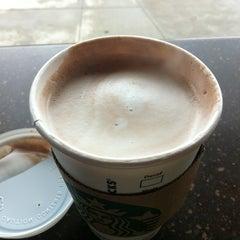 Photo taken at Starbucks by sooz b. on 4/13/2012