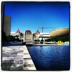 Photo taken at Empire State Plaza by Alejandro C. on 5/19/2012