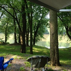 Photo taken at WaterSide Campground & RV Park by Jill K. on 5/26/2012