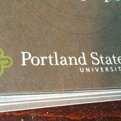 Photo taken at Viking Information Center: Home of the Student Ambassadors (PSU) by Derek W. on 4/16/2012