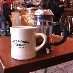 Photo taken at Dark Horse Espresso Bar by Laura B. on 4/6/2012