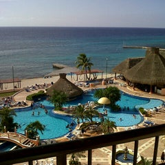 Photo taken at El Cozumeleño Beach Resort by Fernando H. on 8/3/2012