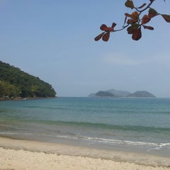 Photo taken at Barra do Sahy by Vagner P. on 9/10/2012