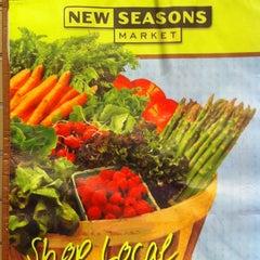Photo taken at New Seasons Market by Jennefer on 7/22/2012