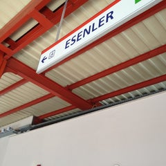 Photo taken at Esenler Metro İstasyonu by Ahmet Ş. on 2/23/2012