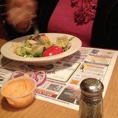 Photo taken at Bridgewater Diner by 🍷Dave🍷 on 4/1/2012