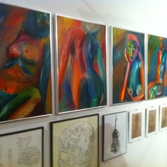 Photo taken at Greenpoint Gallery by John N. on 2/18/2012