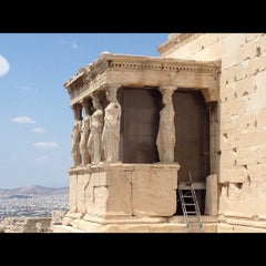 Photo taken at Ακρόπολη Αθηνών (Acropolis of Athens) by Vasili T. on 8/19/2012