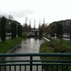 Photo taken at Park Place Fountain Stream by Jp L. on 3/16/2012