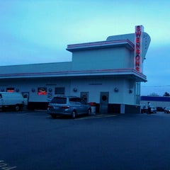 Photo taken at Swensons Drive-In by Beth s. on 3/16/2012
