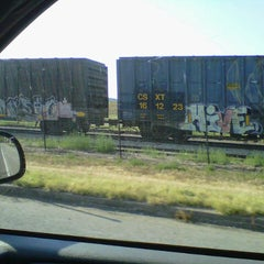 Photo taken at BNSF ROCK ISLAND DEPOT by Chuck G. on 7/30/2012