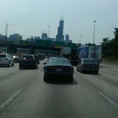 Photo taken at Kennedy Expressway by Molly M. on 6/30/2012