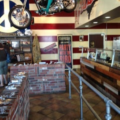 Photo taken at Freebirds World Burrito by Topher A. on 8/18/2012