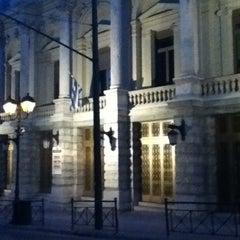 Photo taken at Εθνικό Θέατρο (National Theatre of Greece) by Marisol Itzel G. on 7/31/2012