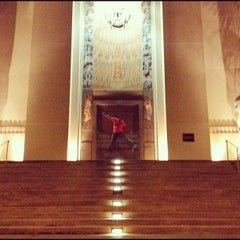 Photo taken at DC Scottish Rite Temple - Valley of Washington, Orient of the District of Columbia by Lucio B. on 5/4/2012