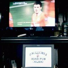 Photo taken at O'Sullivan's Irish Pub of Carlsbad by Jay L. on 4/30/2012