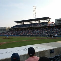 Photo taken at Harbor Park by Sean A. on 6/18/2012