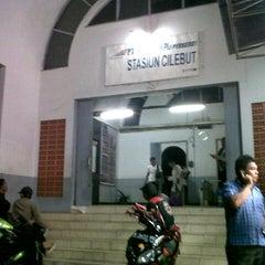 Photo taken at Stasiun Cilebut by Heri L. on 8/30/2012