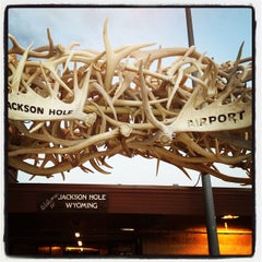 Photo taken at Jackson Hole Airport (JAC) by Robyn S. on 7/26/2012