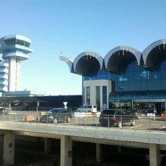 "Photo taken at Otopeni ""Henri Coandă"" International Airport (OTP) by Laurentiu L. on 3/7/2012"
