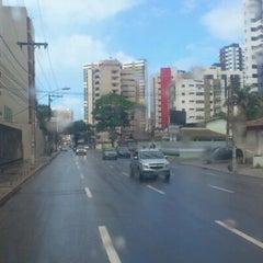 Photo taken at Avenida Bernardo Vieira de Melo by Fábio Z. on 5/25/2012
