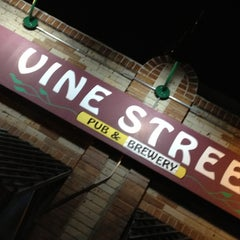 Photo taken at Vine Street Pub & Brewery by Brad J. on 4/6/2012