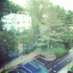 Photo taken at AU - McDowell Hall by Miguel B. on 5/22/2012
