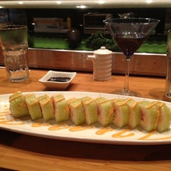Photo taken at Pacific Rim Sushi by Sheena A. on 3/17/2012