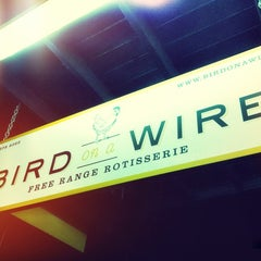 Photo taken at Bird On A Wire by Nivin on 3/15/2012