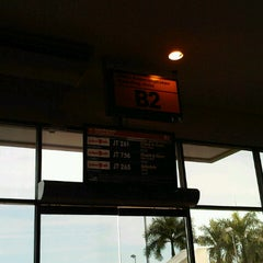 Photo taken at Ruang Tunggu gate B2 Bandara Sepinggan by Melinda G. on 8/26/2012