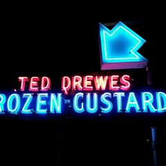 Photo taken at Ted Drewes Frozen Custard by Micah U. on 6/12/2012