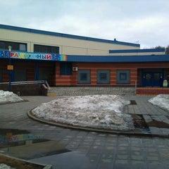 Photo taken at Бассейн «Радужный» by Konstantin D. on 4/8/2012