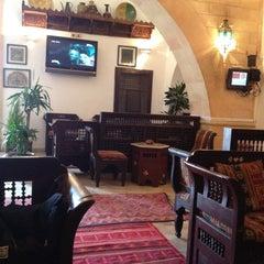 Photo taken at Café el M'dina by Gianni H. on 2/22/2012