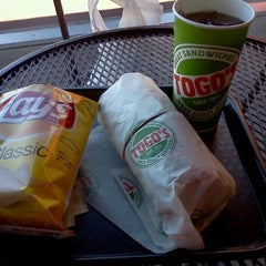Photo taken at TOGO'S Sandwiches by Joe M. on 7/21/2012