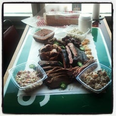 Photo taken at Lockhart Smokehouse by Jonathan J. on 4/5/2012