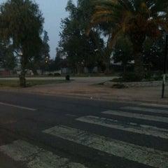Photo taken at Plaza de Armas de Buin by Carlos B. on 5/14/2012