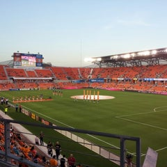 Photo taken at BBVA Compass Stadium by Greg G. on 9/7/2012