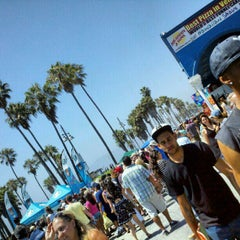 Photo taken at Venice Beach Boardwalk by Marvin N. on 7/29/2012