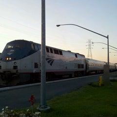 Photo taken at Richmond Amtrak Station (RVR) by Leslie H. on 4/12/2012
