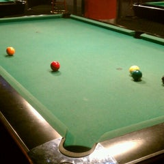 Photo taken at Galaxy Billiards Cafe by Eric W. on 6/26/2012
