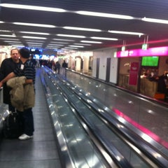 Photo taken at Concourse A by Hdir G. on 3/11/2012