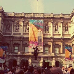 Photo taken at Royal Academy of Arts by Heloisa on 3/23/2012