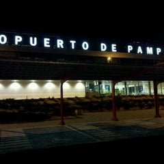 Photo taken at Aeropuerto de Pamplona (PNA) by Nana F. on 7/17/2012